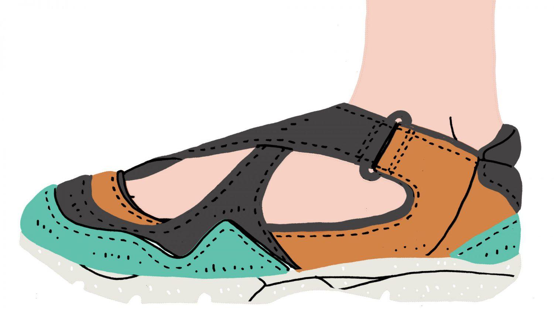 my shoes vol.05<br>白石舞のスニーカーサンダル