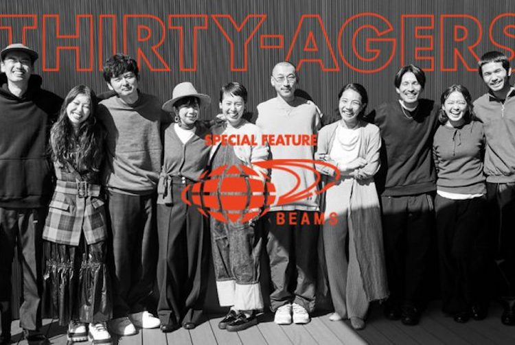 THIRY-AGERS × BEAMS